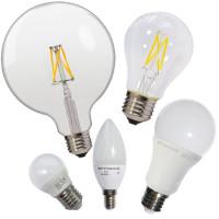 LED Крушки E27, E14