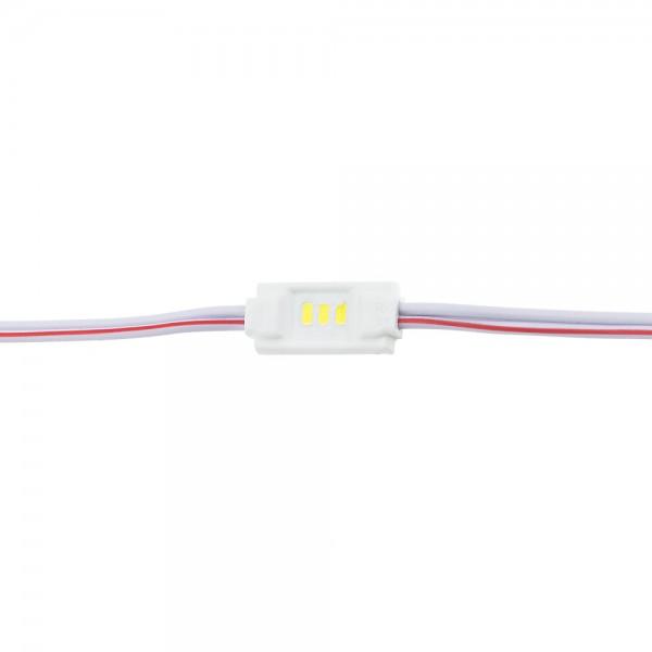 0.36W LED МОДУЛ 3 3014 DC12V 120° 18*8*2.9mm IP65