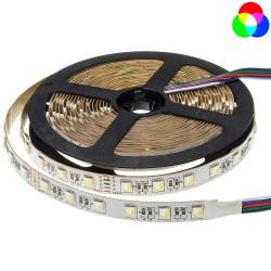 12V LED ЛЕНТА 1ролка-5m, RGBWH 60L / M 12MM 16W / M 600LM / M IP20