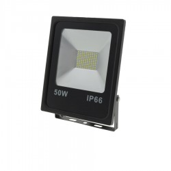 50W LED SMD ПРОЖЕКТОР AC95V-AC265V 80lm/W 150° IP66