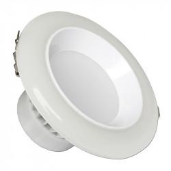 12W LED луна кръгла, димираща LED 2700К/4500К/6000K 750LM 120° трицветна