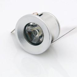 1W LED Луна за вграждане кръгла мини модул