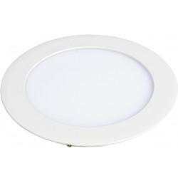 LED Мини панел слим за вграждане, кръг с драйвер