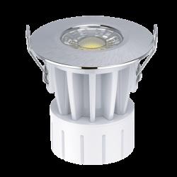 LED Пожарозащитно тяло 8W 40° CCT CHANGE 200-240Vac, CRI>80, PF>0.9 IP65